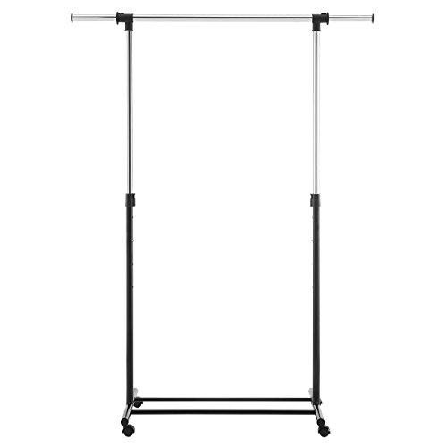Adjustable Single Rod Garment Rack Black - Room Essentials™