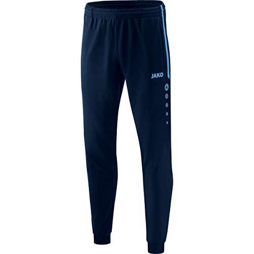 JAKO Competition 2.0 - Pantalones de poliéster para Hombre, Deutscher Fussball, Evergreen, Competition 2.0, Hombre, Color Azul Marino/Azul Celeste, tamaño Medium