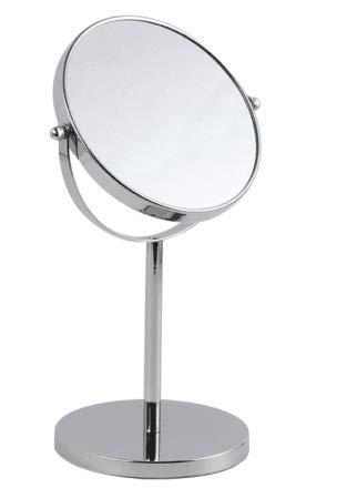 IMMETEE 10x Magnified Vanity Mirror - 7 Inch Round Makeup Cosmetic Mirror -