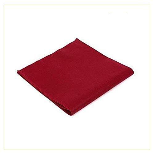 Virsus 100 Tovaglie in TNT Tessuto Non Tessuto Misura 100x100cm Ideali per la ristorazione vari colori (Bordeaux)