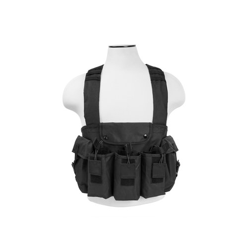 VISM by NcStar AK Chest Rig (CVAKCR2921B), Black