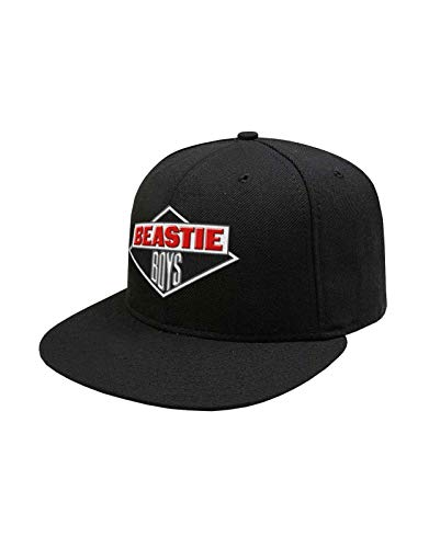 LIVE NATION The Beastie Boys Baseball Cap Diamond Band Logo Nue offiziell Schwarz Strapback