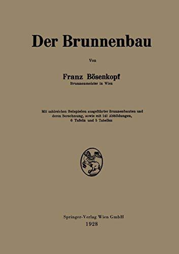 Der Brunnenbau PDF Books