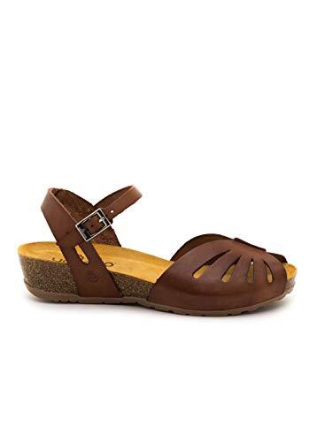 Sandalias Yokono Capri Marrones para Mujer 37 marrón