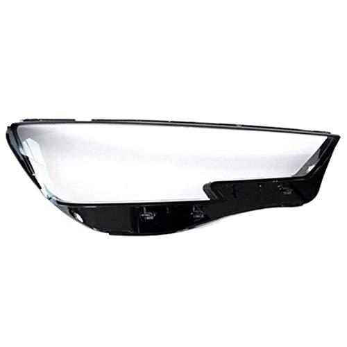 lilili Scheinwerfer Glasabdeckung Neues Auto Klar Scheinwerfer Objektivabdeckung Ersatz-Kopf-Licht-Lampen-Abdeckung Fit for Audi A4 B9 2015-2018-Right Autozubehör (Color : Right)