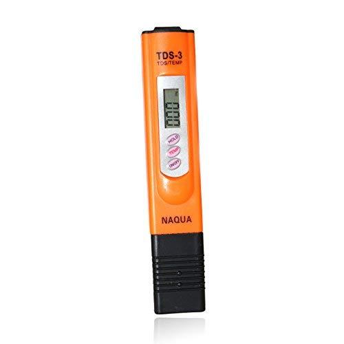 Naqua TDS Messgerät - Wasserqualität in PPM messen + Eichlösung