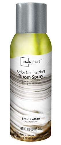 Mainstays Odor Neutralizing Room Spray, Fresh Cotton, 4 fl oz