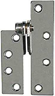 2 Piece Set of 2 Global Door Controls CPS4540-US15-M CPS Series Imperial USA 4.5 x 4.0 in Satin Nickel Full Mortise Spring Hinge