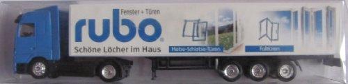 Rubo Fenster & Türen Nr. - Schöne Löcher im Haus - MB Actros - Sattelzug
