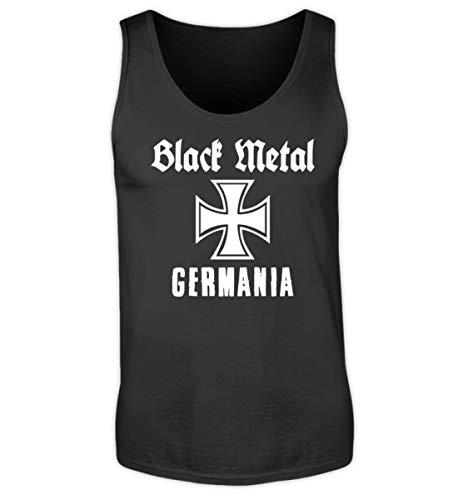 Black Metal Germania - Eisernes Kreuz - Herren Tanktop -XL-Schwarz