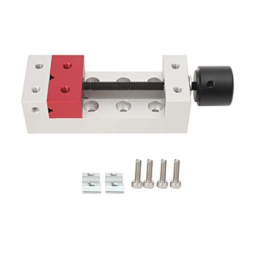 Mini prensa para furadeira, torno de bancada Mini braçadeira plana de alumínio para bancada vice-prensa ferramenta, até 50 mm