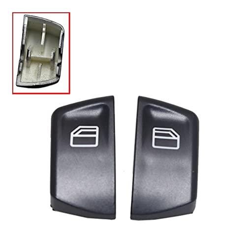 LPL 1pair Coche de Control eléctrico Control de Ventanas Interruptor de Encendido Botón de Empuje Cubiertas para Mercedes Compatible con Sprinter Vito Viano