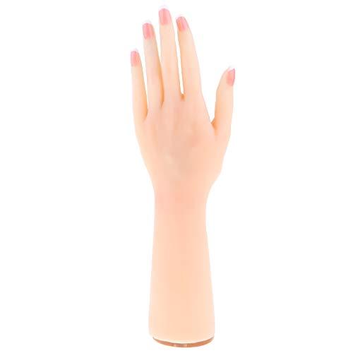 Homyl Silikon Weibliche Hand Schmuck Modell Ring Armband Massage Akupunktur