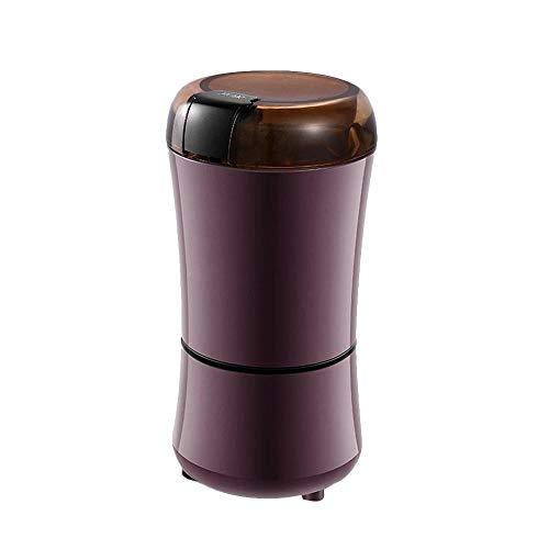 ODSHY 400W elektrische Kaffeemühle Mini Spice Bohnen Küche Salz Pfeffer Grinder Powerful Nuss Seed Kaffeebohne Mühle Grind Kräuter Nüsse (Farbe : Light Green)