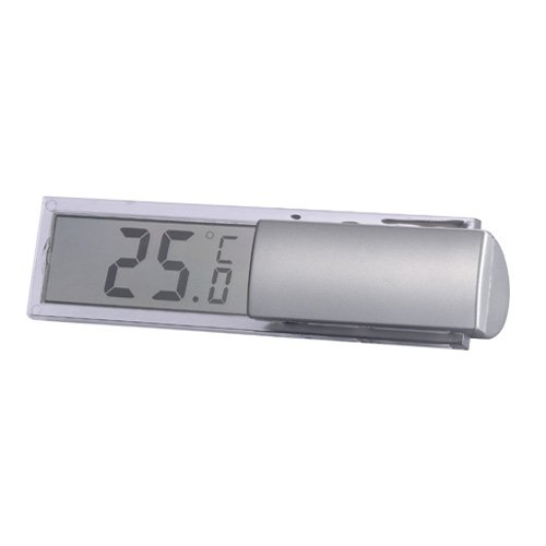 Vensterthermometer WS 7026 - een digitale thermometer met half-transparant display - klein maar oh-ho!