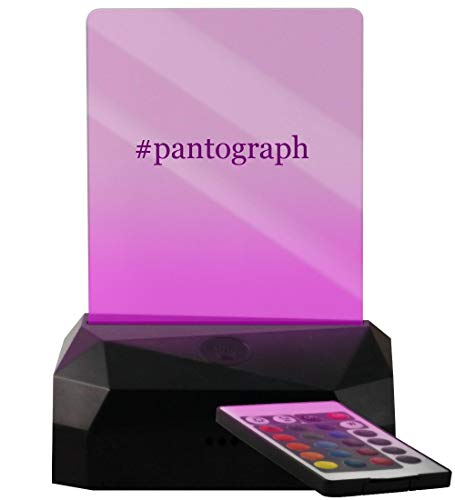 #Pantograph - Hashtag LED USB Rechargeable Edge Lit Sign