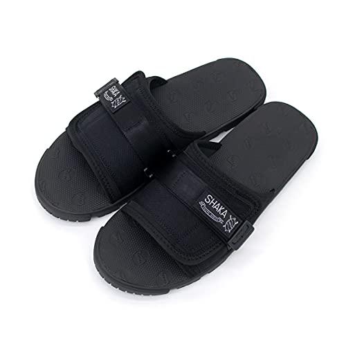 [シャカ] メンズ BOOT CAMP BF スライドサンダル[433188]サイズ10 BLACK