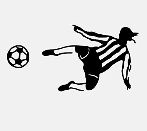 Slmxx Coolste Torwart Fußball Fußball Wandaufkleber Pvc Größe 70Cmx35Cm