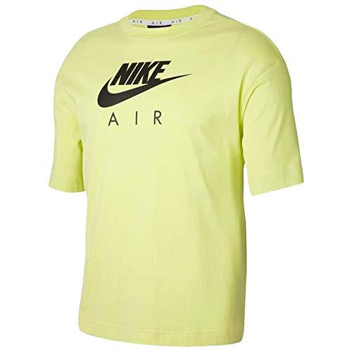 NIKE Air Shirt, Limelight, L Womens