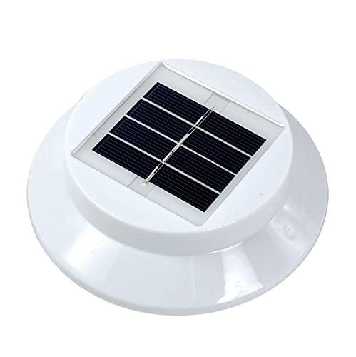 PrittUHU Impermeable Fuera de la Pared de la Pared de la Pared Luz de la lámpara Solar 3 LED IP65 Control de Sensor de luz de luz Solar Powered Fence Sensor Solar al Aire Libre