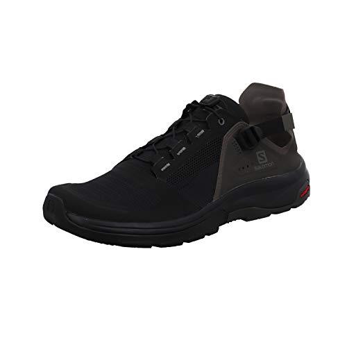 Salomon Herren Tech Amphib 4 Walking Shoe, Schwarz Grau Black Beluga Castor Gray, 44 2 3 EU
