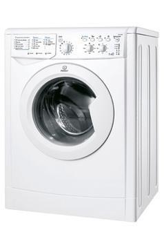 Indesit IWDC 71680 (WE) - Lavadora-secadora (Frente, Independiente, Color blanco, 4 kg, 1600 RPM, A)