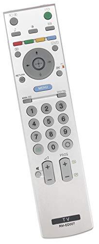 ALLIMITY 147984711 RM-ED007 Afstandsbediening Vervangen voor Sony Bravia LED LCD TV KDL-20G2000 KDL-26P2530 KDL-26U2000 KDL-32P2530 KDL-32U2000 KDL-40U2520 KDL-40U2530 KDL-32U2530 KDL-40U2000