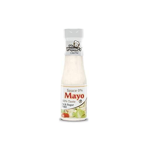 AMIX - Salsa 0 Calorías - Sauce 0% AMIX - Sin Grasas - Aporta Sabor a tus com idas - Sin Gluten - Sin Lactosa - Apto para Vegetarianos - Salsa sin Calorías - Sabor Mayonesa, 250 ml