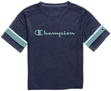 Champion Gym Issue Football tee Camisa para Mujer