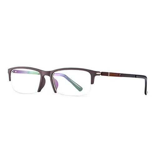 CAOXN Gafas De Lectura Fotocromáticas Inteligentes, Lupa Multifocal, Presbicia Progresiva, Hipermetropía, UV400, Gafas De Sol con Dioptrías,Marrón,+1.00