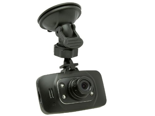 "Black Box GS8000L Mini Dashboard Dash Cam - HD 1080P 2.7"" LCD Car DVR Miniature Camera Video Recorder - Wide Angle Zoom Lens LED Night Vision, Motion Detection with G-Sensor"