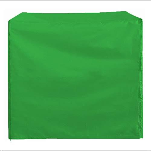 FCZBHT Couverture de Meubles Housse De Siège Pivotante Jardin Imperméable Prime Housse De Chaise Berçante Garde poussière (Couleur : Vert, Taille : 220 * 125 * 170cm)