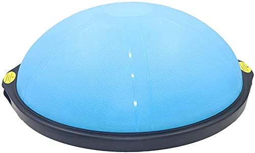 WSZYBAY Cojín de Balance de 64cm con Bomba de pie Yoga Ejercicio Bola de cúpula Half Ball Balance Trainer for la coordinación de fisio Capacitación de rehabilitación Capacitación de Fuerza básica, B3