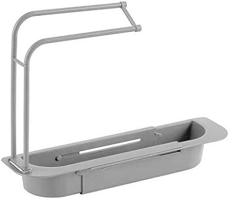Telescopic Sink Shelf Kitchen Soap Sponge Sink Drain Rack Sinks Holder Organizer