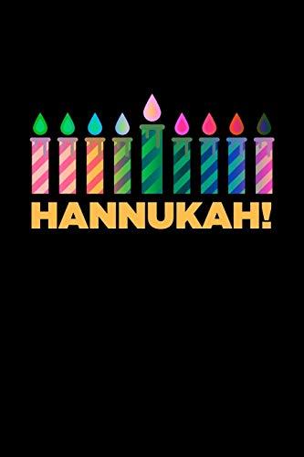 Hannukah: Jewish Notebook | Hanukkah Festival Of Lights Chanukah Israel Hebrew Mini Notepad Gift College Ruled (6'X9')