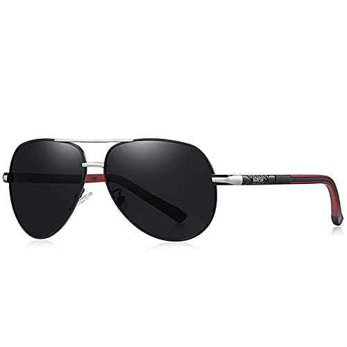 ZHATAOZH Gafas de Moda Hot Style Hombres Gafas de Sol Polarizadas UV400 Protección Driving Sun Glass Masculino Oculos De Sol Gafas de Sol Polarizadas Hombres Frescos Deportes para Mujer