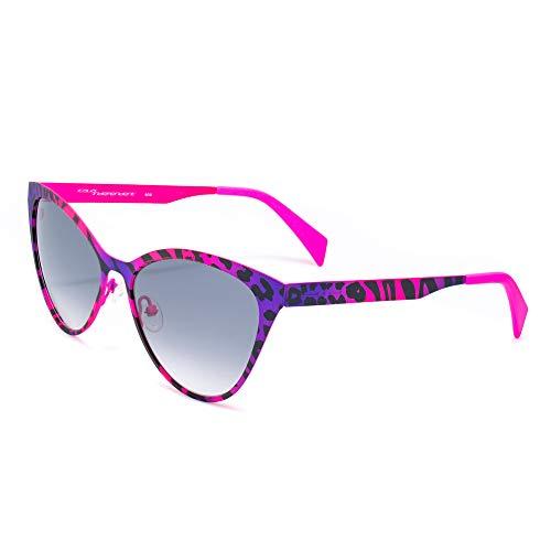 italia independent 0022-ZEB-013 Gafas de sol, Morado, 55 para Mujer