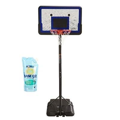 Lifetime Height Adjustable Portable Basketball System, 44 Inch Backboard