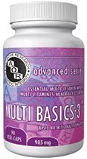 Multi Basics 3 (180 VeggieCaps) Brand: A.O.R Advanced Orthomolecular Research