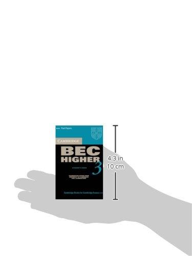 Cambridge BEC Higher 3 Audio Cassette (BEC Practice Tests)