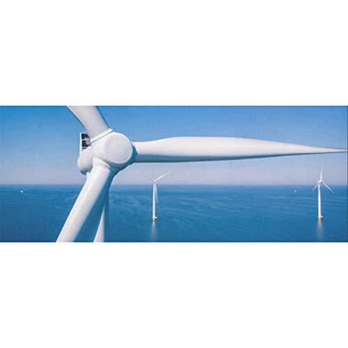 Geschenkpapier Papier Turbine Luftaufnahme Drohne Windpark Papier für Geburtstag, Urlaub, Hochzeit Geschenkverpackung 58