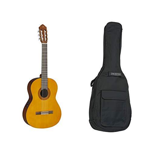 Yamaha CX40 - Guitarra clásica electrica + funda