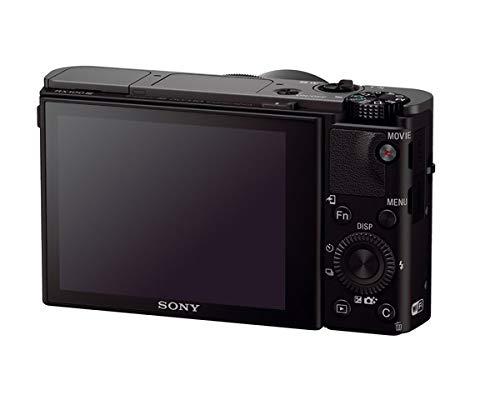 Sony RX100 III Creator Kit Fotocamera Digitale Compattacon Grip VCT-SGR1, Sensore da 1.0'', Ottica 24-70 mm F1.8-2.8 Zeiss, Schermo LCD Regolabile