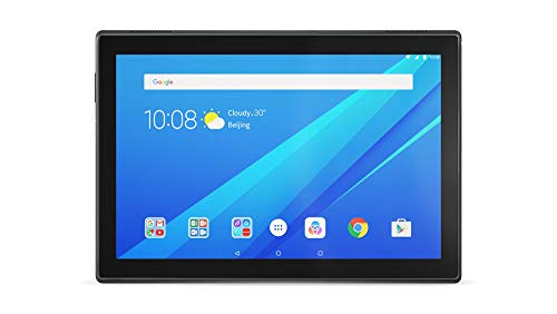 Lenovo Tab 4 (ZA2K0139GB) 10.1' HD 4G LTE Tablet Qualcomm MSM8917 Processor, 2GB RAM, 32GB Storage, IPS TFT Display, Android 7.1 - Black