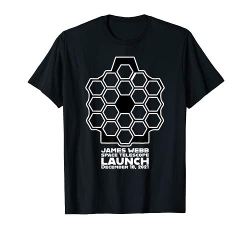 James Webb - Telescopio espacial de la NASA para la parte superior de Navidad Camiseta