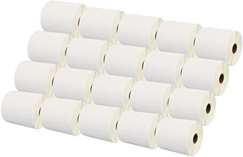 Printing Saver 100 x 50 mm 20 Thermodirekt-Etiketten (1000 Stück/Rolle, weiß) kompatibel für Zebra Toshiba Citizen Sato Honeywell Intermec Datamax CAB Eltron Godex Orion UPS Wasp Etikettendrucker