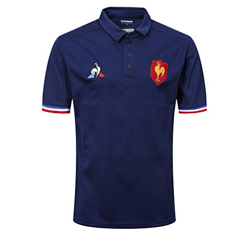 LQWW 18-21 French Rugby Jersey Men's Vapodri+ Home Pro Jersey Men Polo Rugby Jerseys,004,4XL
