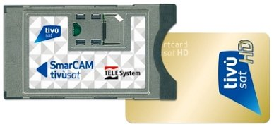 Telesystem - Modulo Tivusat HD Smarcam + smart card