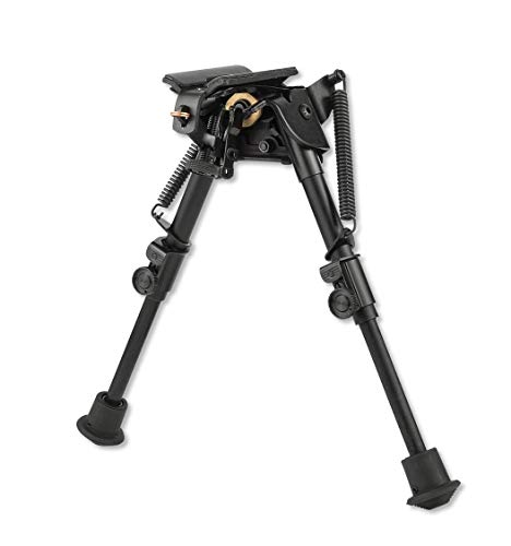 Harris Engineering S-BR Hinged Base 6 - 9-Inch BiPod by Harris Engineering