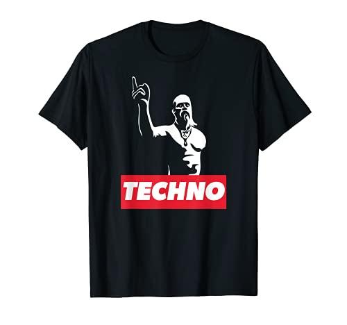 Techno Viking para raver, DJ, fiesta techno, festival Camiseta